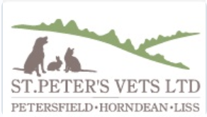 St Peters Vets logo